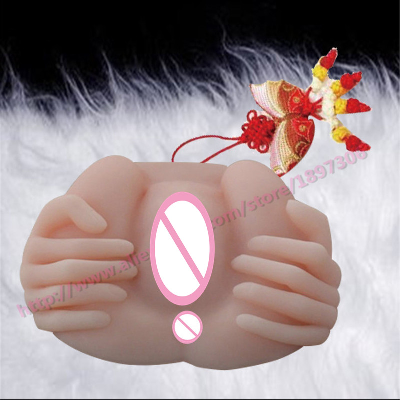 Hands Hold <font><b>Vagina</b></font> Male Masturbator Full <font><b>Silicone</b></font> Soft Big <font><b>Ass</b></font> Can Analsex Adult Products <font><b>Sex</b></font> Shop Free Shipping By DHL image