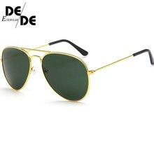 Hot Sale Sunglasses Mens Vintage Ms. Frame Glare Pilot Aviation 19 Color Driving Eye Glasses