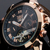 Jaragar relógios famosos dos homens marca horloges mannen dia/semana tourbillon auto relógios mecânicos relógio de pulso gift box free ship
