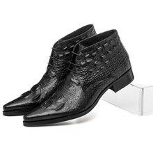 Schoenen Schoenen Krokodil Laarzen