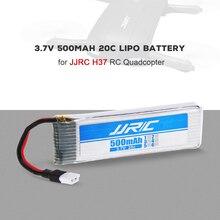 JJRC H37-0001 5 pcs Original 3.7 v 500 mah Bateria LiPo e 5 20C-Port Charger Set para JJRC h37 E50 Selfie Drone RC Quadcopter