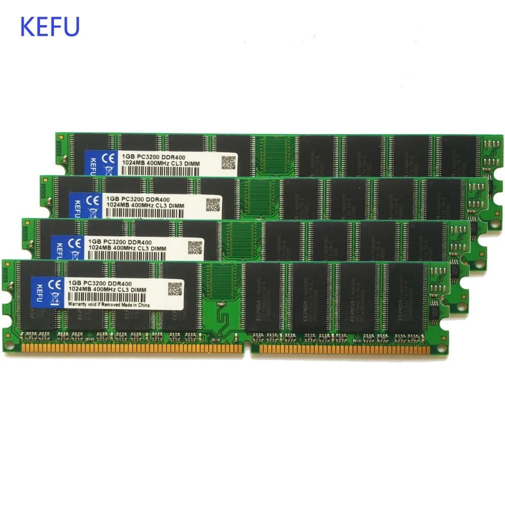4x 2GB 8GB DDR2 667Mhz PC2-5300U 240Pin Low Density Desktop Memory For Micron RU