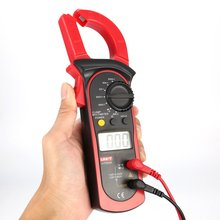 Digital Clamp Meters UNIT DC/AC Volt Amp Ohm Diode Mini Multimeter Ammeter Multitester Current Voltage Resistance Tester Probe