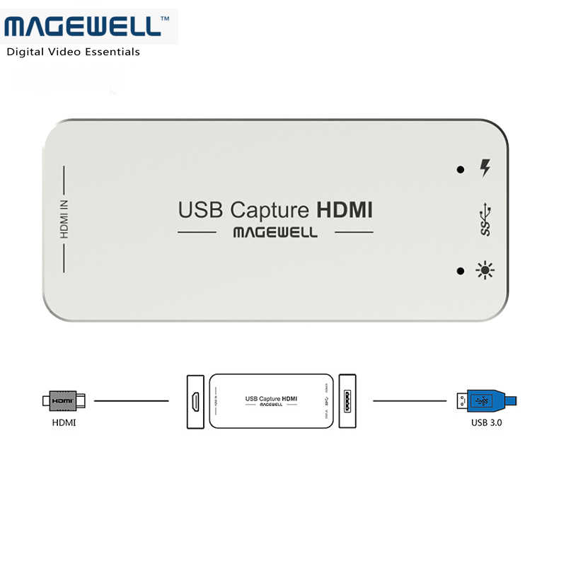 Magewell HD Video Capture Card HDMI to USB Capture HDMI USB3 0 Video  Capture Grabber Free Shipping