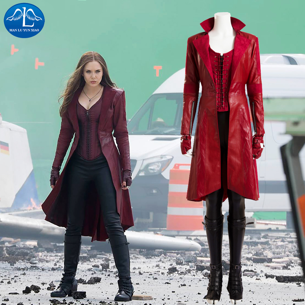 Popular Scarlet Witch Costume-Buy Cheap Scarlet Witch Costume lots ...