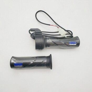 Elektryczny rower skuter gazowy uchwyt standardowy Ebike Twist przepustnica z 1.5m kablem do roweru elektrycznego zabawka do ujeżdżania pojazdu