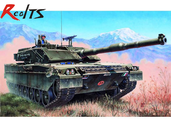 RealTS Trumpeter 00332 1/35 Italian C-1 Ariete MBT Tank Model realts tiger model 4604 1 35 french amx 30 b2 brennus mbt