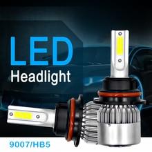 ФОТО h7 h4 led car headlights  car led light bulbs  led h11 hb5/9007 automobiles headlamp  6000k/3000k fog lamps 72w 7600lm
