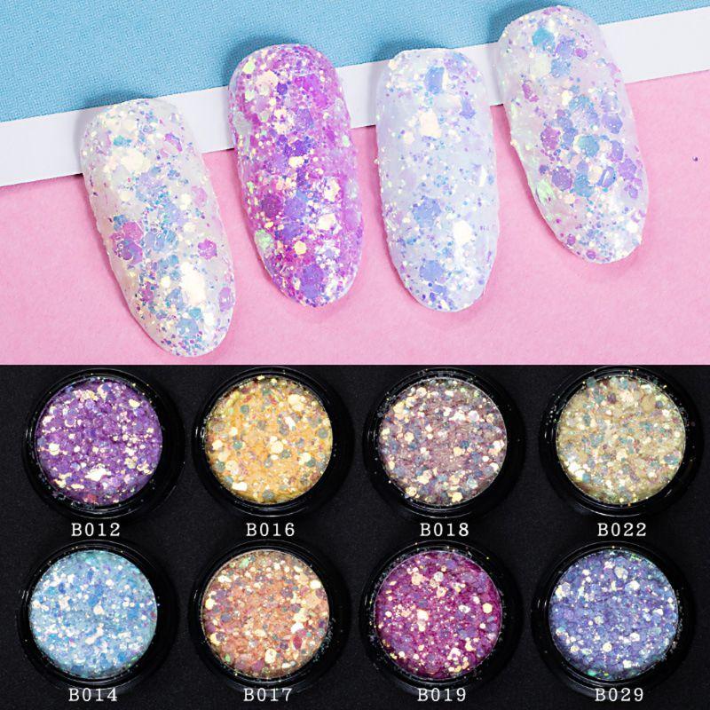 UV Color Change Mica Powder Sunlight Reactive Sequain Glitter Resin Jewelry DIY