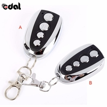 EDAL 1PC Remote Control Cloning Gate for Garage Door Car Alarm Products Keychain 433 Mhz