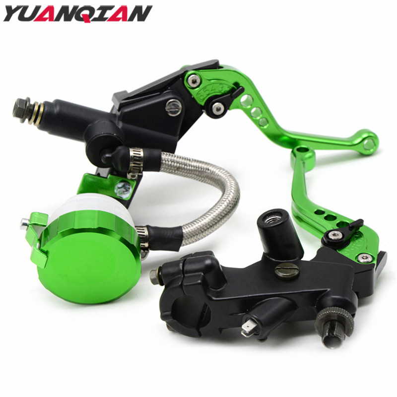 Universal Motorcycle Brake Clutch Levers Master Cylinder Reservoir For Yamaha YZF R1 R6 R25 R125 R15 R1S R6S YZF600R YZF600 FZ6R 6 colors cnc adjustable motorcycle brake clutch levers for yamaha yzf r6 yzfr6 1999 2004 2005 2016 2017 logo yzf r6 lever