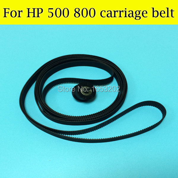 2 Pieces High Quality Printer Parts A1 C7770-60182 24 inch Carriage Belt For HP Designjet 500 510 800 800ps Belt For HP500