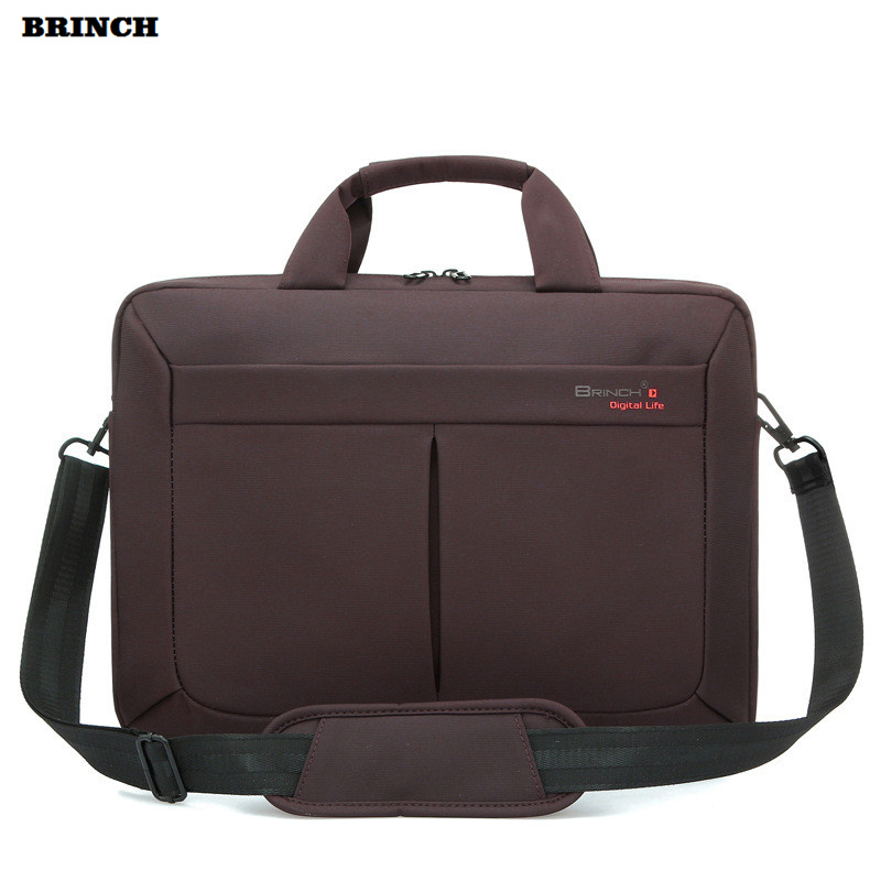 BRINCH Laptop Bag Computer Briefcase For Women Men Universal Waterproof Portable Shoulder PC Bags For Xiaomi Mipad Samsung