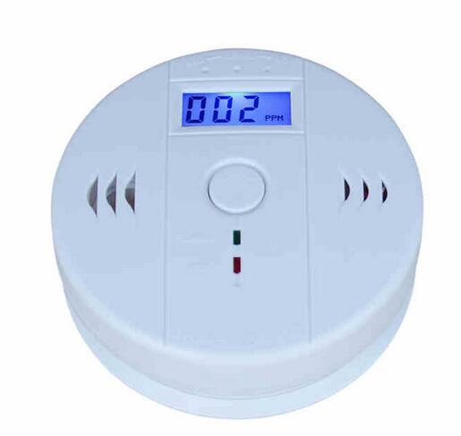 SmartYIBA LCD Photoelectric Independent CO Gas Sensor 85dB Warning High Sensitive Carbon Monoxide Detector Alarm CO Sensor