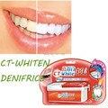 2016 nueva Luz Blanca Para Blanquear Los Dientes Dentífrico Blanqueador Salud Kit Pasta de dientes Oral Care Para El Cuidado Dental Personal Saludable