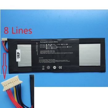 3282122-2s HW-3487265 Battery for Jumper EZbook 3 Pro Tablet PC EZbook3 SL New Li Polymer Rechargeable Replacement 7.6V 4500mAh