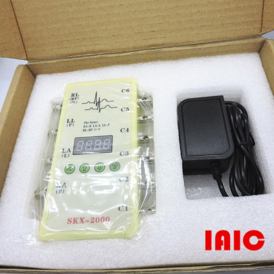 SKX 2000C type ECG instrument analogique valeur ECG signal simulateur ECG générateur-in Câble Enrouleur from Electronique    1
