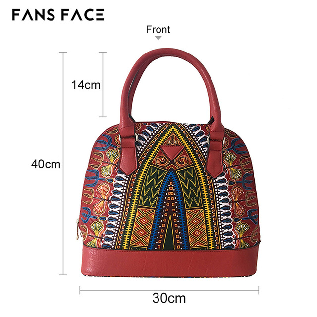 FANS FACE Africa Women Bags Mobile Messenger Ladies Handbag High Quality Luxury Handbags Women Bags Designer Traditional African 2