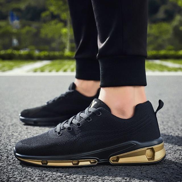 71df283c11d Running Shoes Men Trainers Breathable Men Gym Shoes 2018 Summer Boys  Athletic Sport Shoes Mens Designer