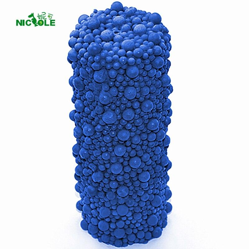 Mousse cylindre forme bougie Silicone moule bricolage à la main savon moule artisanat résine argile décoration outil