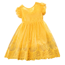 AmzBarley Girls summer dress Lace floral Bowknot princess tutu Dresses kids Birthday party Outfits Toddler Casual wear clothing kids clothing summer dresses girls toddler girl princess dress sleeveless polka dots bowknot lovely birthday party sundress hot