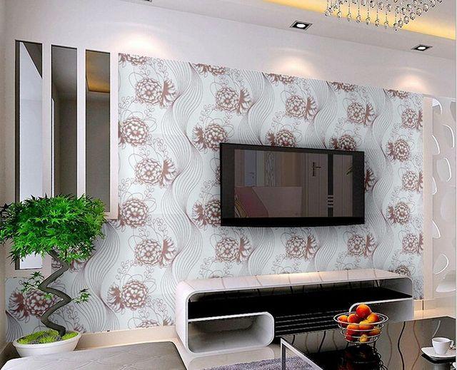 Vintage Stijl Slaapkamer : Fashion stijl pioen wallpapers vintage papier behang voor