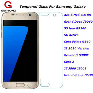 GerTong Cover Tempered Glass For Samsung Galaxy Grand Prime Ace 4 S5 Neo Duos
