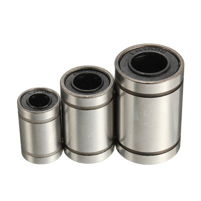 1pcs Bearing Steel linear ball bearing Linear Bearing LM6UU/LM8UU/LM10UU 3D Printer Parts Accessories