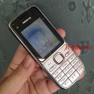 Image 4 - Original Nokia C2 C2 01 Entsperrt Handy Renoviert Handys & Hebräisch Russisch Arabisch tastatur