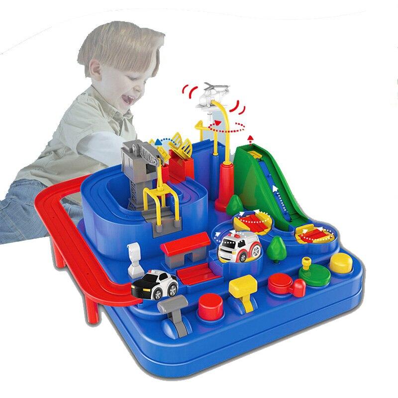 Thomas et ami pas de batterie nécessaire mécanique garçon voiture grande aventure petit train piste ensemble jouets éducatifs pour enfants