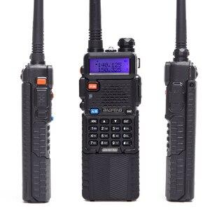 Image 2 - 2 قطعة Baofeng UV 5R 8 واط اتجاهين راديو عالية الطاقة نسخة 10 كجم بطاقات للزجاج الأمامي طويلة المزدوج الفرقة راديو محمول لاسلكي تخاطب CB راديو