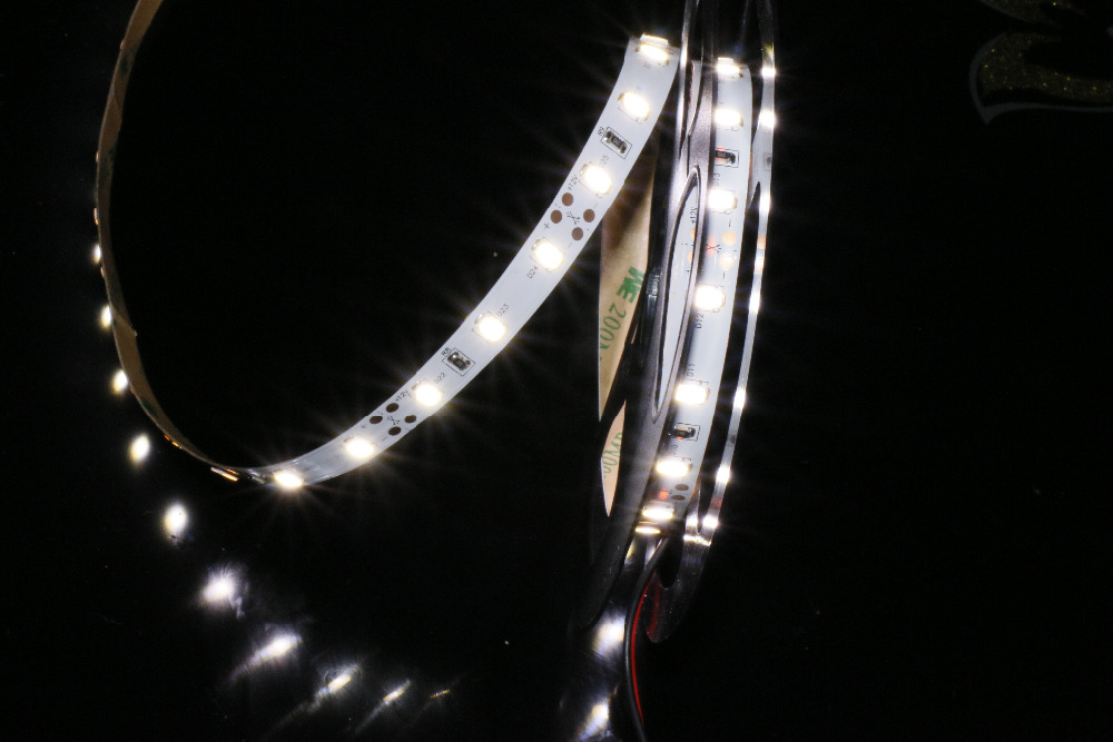 MARSWALLED High CRI95 LED Strip Light SMD5630 Daylight Matched Strip 5600K Nonwaterproof for Camera DIY Photography