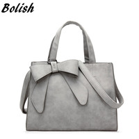 Bolish Drop Shipping Vintage Shoulder Bag Female Causal Handbag Lady Daily Shopping Crossbody Bag Bolsa Feminina