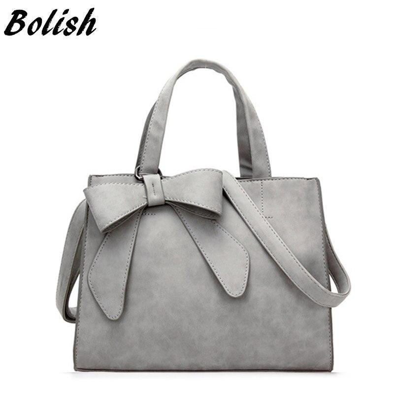 Bolish Drop verschiffen Vintage Schulter Tasche Weibliche handtasche Kausal Dame Täglichen Shopping Crossbody-tasche Bolsa Feminina De Marca Famosa