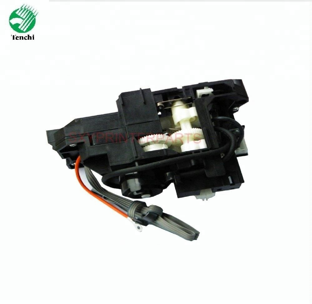 Original new Ink Pump Assembly Capping Station for Epson T1100 T1110 B1100 ME1100 L1300 Printer pump and capping station for epson tx800 printer