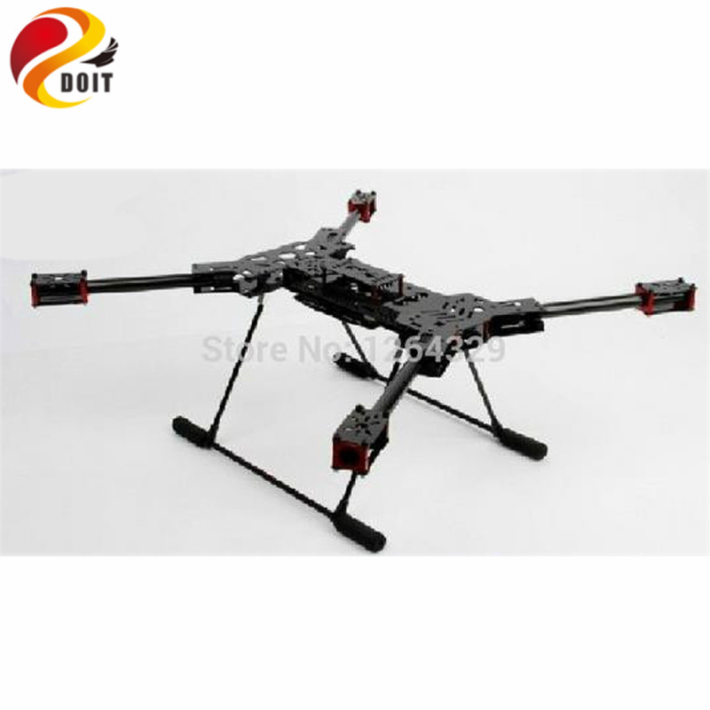 Official DOIT H4 Glass fiber Four Axis Frame Folding Frame 680 Wheel Base FPV Four Fold Axis/ Aircraft Parts for DIY hj x330 black glass fiber 4 axis frame multiaxial rack 4 axis aircraft compatible for kk mwc red