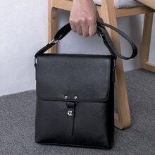 купить BAQI Brand Men Handbags Shoulder Bag Genuine Leather Cowhide High Quality Men Crossbody Messenger Bag 2019 Fashion Business Bag по цене 2507.55 рублей