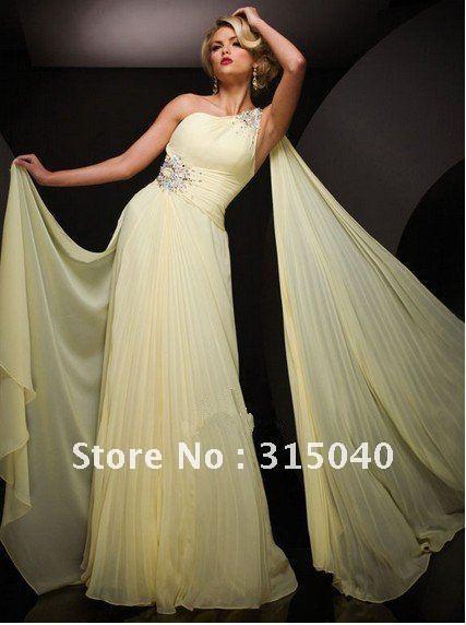 2012  made  sexy  chiffon prom  dress #N37