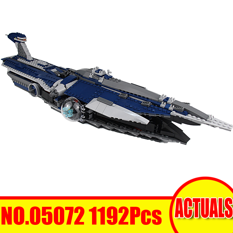 2018 New 05072 1192Pcs Lepin Star Wars Model Building Kits The Malevolence Blocks Bricks Set Toys For Children Compatible 9515 new lepin 16009 1151pcs queen anne s revenge pirates of the caribbean building blocks set compatible legoed with 4195 children