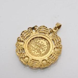 Image 5 - イスラム教徒のトルココインアラブコインペンダントネックレスをドロップ無料