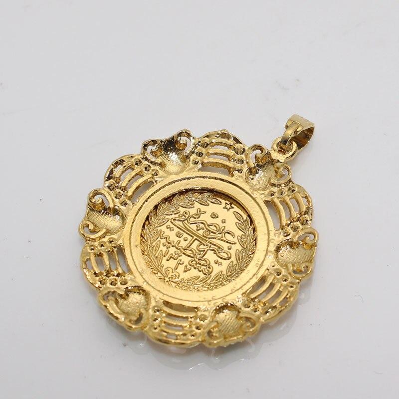 Image 5 - Islam muslim turkey Coin Arab Coin pendant  necklace    accept drop shippingPendants