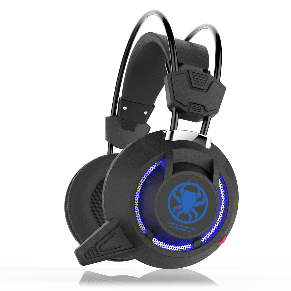Gaming Headphone USB LES Light Stereo Earphone For Computer PC Notebook PLEXTONE PC835 Over Ear Game Headset Wired Headphone Mic 2pcs each g1000 over ear game gaming headset earphone headband headphone with mic stereo bass led light for pc gamer