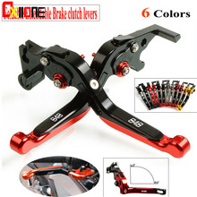 цены For Ducati 848 /EVO 2007 2008 2009 2010 2012 2013 CNC Motorcycle Adjustable Brake Folding Extendable Clutch Levers Set 6 Colors