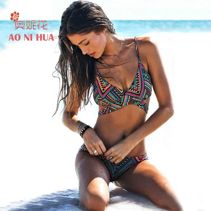 Sexy Brazilian Bikini Set Women Low waist Push up Swimsuit 2017 Swimwear bathing suit summer New beachwear women wholesale  цена и фото