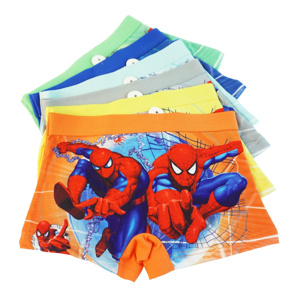 2 to 6 Years Trunks Short Boxers Baby Boys Toddler Underpants Marvel Spiderman Boys Pants 100/% Soft Cotton Pants Childrens Underwear Multipack of 5 Briefs