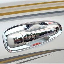 8 шт. Нержавеющаясталь дверные ручки укладки защита Обложка отделка для Toyota Land Cruiser Prado FJ150 Интимные аксессуары
