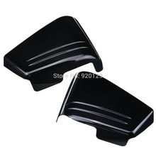 Motorcycle parts Black Fairing Battery Side Cover For Honda VTX 1800C VTX1800C Custom 2002-2004 2006-2008