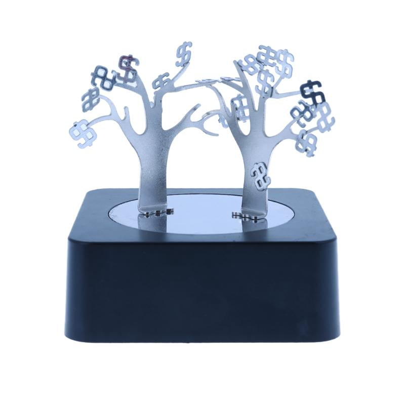 DIY Magnetic Tree Toy Kids Adults Decompression Toy Sculpture Art Decoration Kids Stress Relieve Toy Puzzle Game Xmas Gift pa93 pu foam shrimp model squishy relieve stress toy