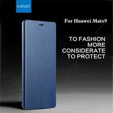 X-уровень Для huawei mate 9 Case роскошные Мягкие Силиконовые + Кожаный Защитный броня Флип Назад Телефона Чехол Для huawei Mate 8 Case крышка