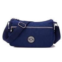 ebfe26d05f91e Nylon Women Crossbody Bag Fashion Girls Handbag Female Candy Color Casual  Travel Shoulder Bags Messenger Bag